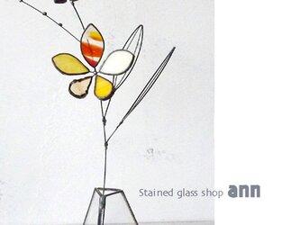 ステンドグラス フラワー200502Yの画像