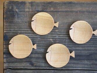 魚の豆皿[い]の画像