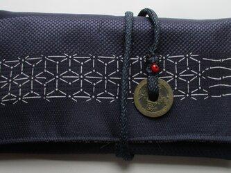 4836 帯で作った和風財布・ポーチ #送料無料の画像