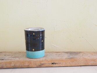 音の鳴るビアグラス(青/ターコイズ)の画像