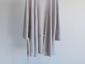 enrica サマーニットガウン greyの画像