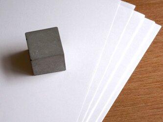 セメントキューブペーパーウェイト(小)の画像