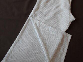 着物女子のためのステテコ■淡ブルードットの画像
