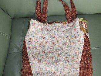 レトロなバッグ ~花かご~の画像