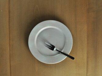 リムプレート6寸/白の画像