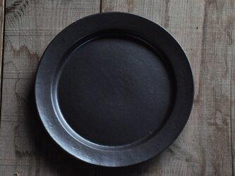 リムプレート9寸/黒の画像