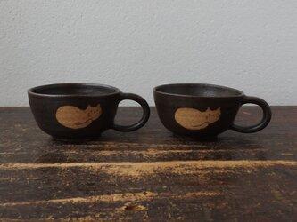 ねこスープカップの画像