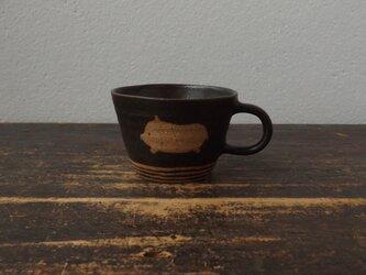 ぶたマグカップの画像