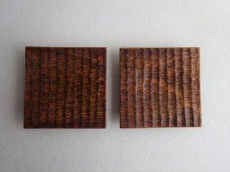 西南桜の角小皿(2枚セット)の画像