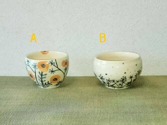 お花のカップ(小)の画像