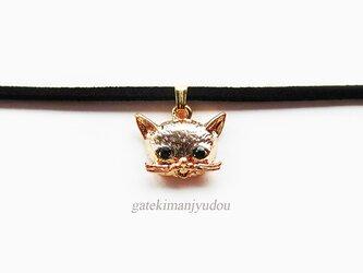 猫のチョーカー【長さ変更可】の画像