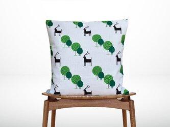 森森のクッション The trees& deer  -ヒノキの香り-の画像