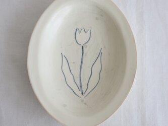 リム中皿(チューリップ)の画像
