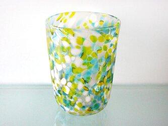 彩グラス(Blue & yellow)の画像