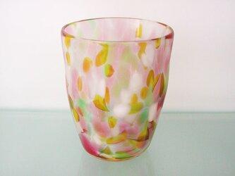彩グラス(フラワー04)の画像