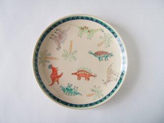 6寸皿(恐竜)の画像