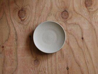 シンプルな丸皿 白 小サイズの画像