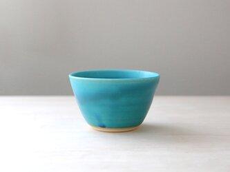 【再販】トルコ青マット釉のフリーカップ * 1の画像