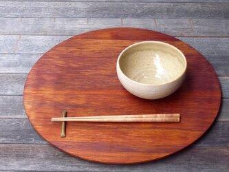 折敷(丸盆)の画像