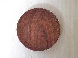 ウォールナットのパン皿の画像