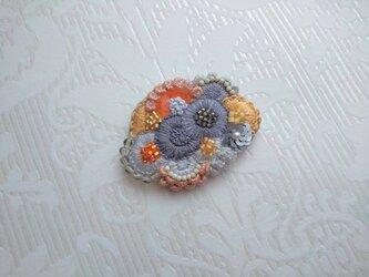 刺繍ブローチ Bouquetの画像
