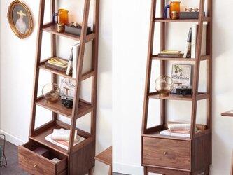 オーダーメイド 職人手作り 収納棚 家具 オープンシェルフ 北欧モダン 天然木 収納 木目 木工 サイズオーダー可の画像
