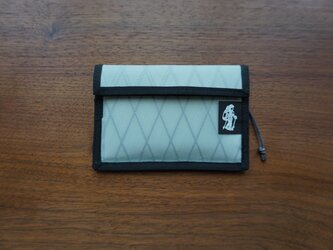flap pouch  x-pac light greyの画像