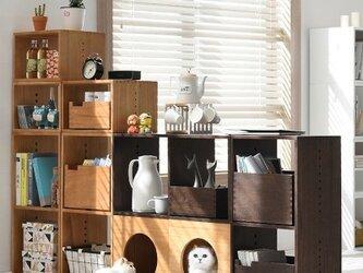 受注生産 職人手作り 木製 猫家具 キャトボックス ねこ用ハウス 猫用トイレカバー 桐 天然木 無垢材 収納 お洒落の画像