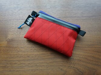 flat pouch S⁺ combo red×purpleの画像