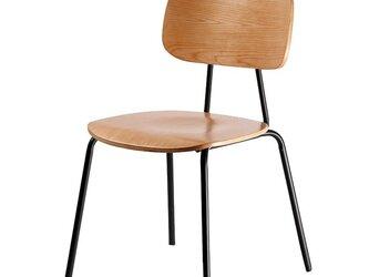 受注生産 職人手作り スツール アイアンウッド 椅子 家具 天然木 無垢材 木目 木工 クルミ材 インダストリアル エコの画像