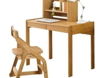 オーダーメイド 職人手作り デスク パソコンデスク 学習机 テーブル 収納 天然木 家具 木目 木工 サイズオーダー可の画像