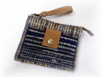 裂き織りお財布ポーチ P-141の画像