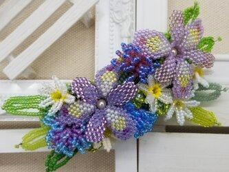バレッタ Bouquet  (シャガ)の画像