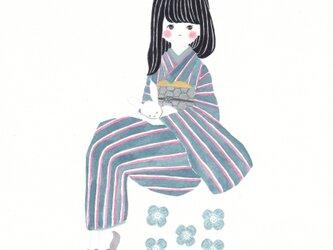 「花緒日和」ポストカード2枚セットの画像