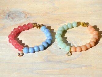 bi-color braceletの画像