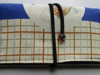 4842 お宮参り着で作った和風財布・ポーチ #送料無料の画像