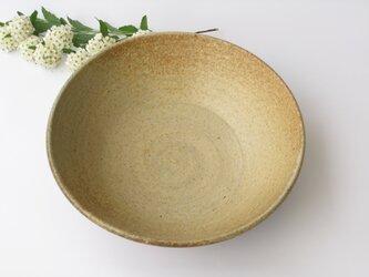 炭化の丸鉢 (送料無料)の画像