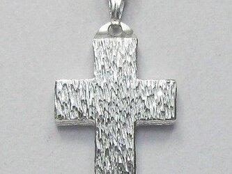 木肌光沢仕上げの幅広のギリシャ十字架 gc09 新作ですの画像