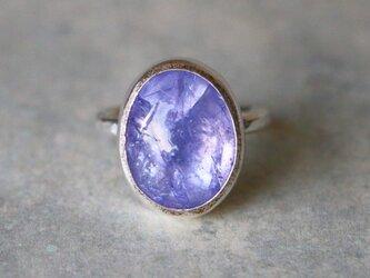 古代スタイル*天然タンザナイト 指輪*6号 SVの画像
