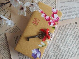★台湾花布★手帳型スマホケース(全機種対応)№48【受注製作】の画像