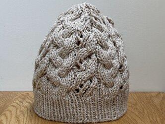コットン・リネン ニット帽の画像