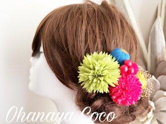 感謝価格 funwariマムと和玉ボールの髪飾り7点Set No742の画像