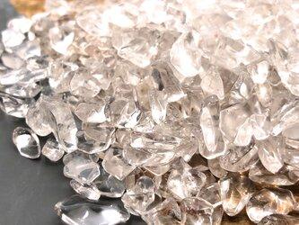 天然水晶さざれ 75g 小粒 透明度高 レジン / テラリウム / ハーバリウム /素材の画像