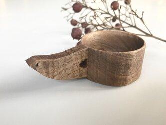 受注制作 鳥のコーヒーメジャースプーン 豆摺り切り7gの画像