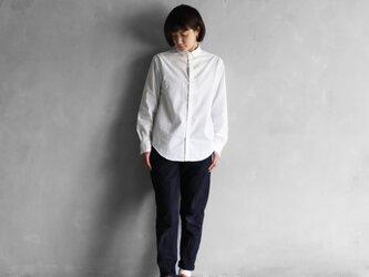 002Wオーガニックコットンボタンダウンシャツ size2【ユニセックス】の画像