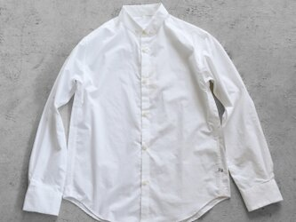 002Wオーガニックコットンボタンダウンシャツ size4【ユニセックス】の画像