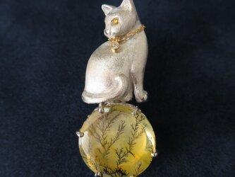 SV Cat Dendrite broochの画像
