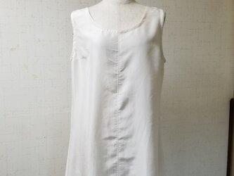 着物リメイク  タンクトップスリップ(絹)の画像