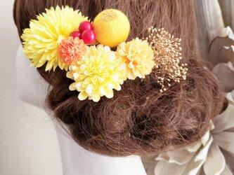 感謝価格 funwariマムと和玉ボールの髪飾り7点Set No743の画像