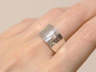 閃光Flash curve ring silver925 の画像